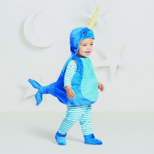 Baby Plush Narwhal Vest Costume 12