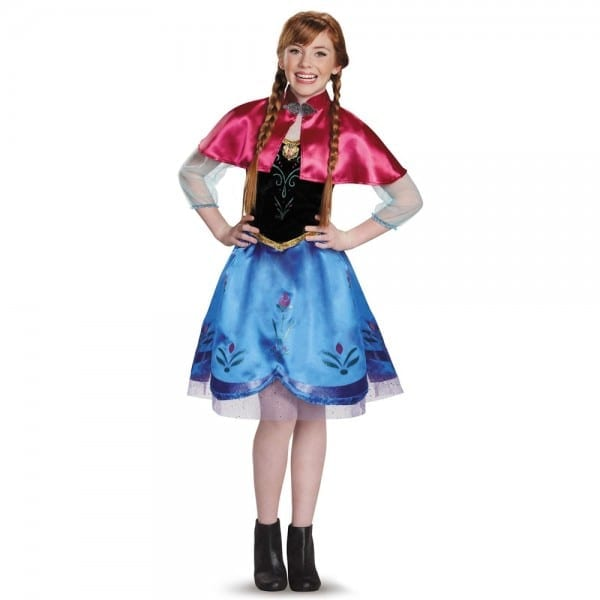 Frozen Traveling Anna Tween Costume