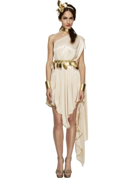 Greek Goddess Fancy Dress Costume Roman Toga Grecian Womens Uk 8