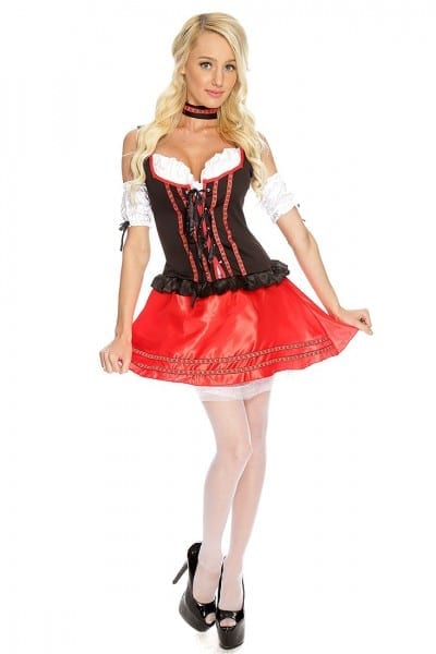 3 Pc Sexy Beer Wench Costume