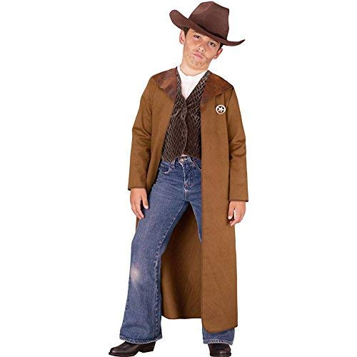 Cheap Fun World Little Boy's Med Old West Sheriff Costume