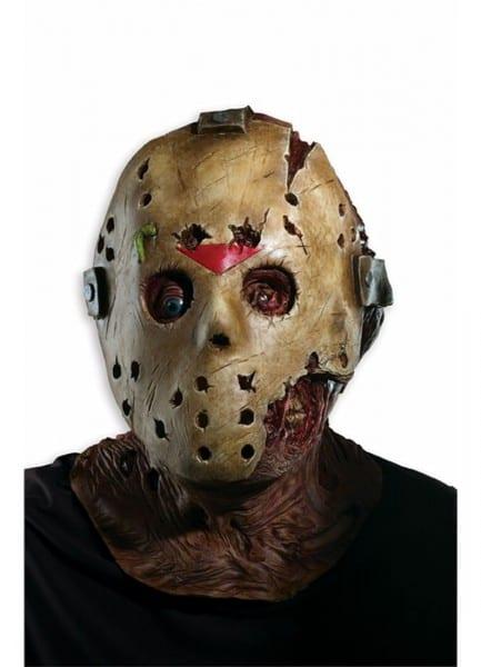 Jason Deluxe Oversized Latex Mask Rubies 52097, One Size