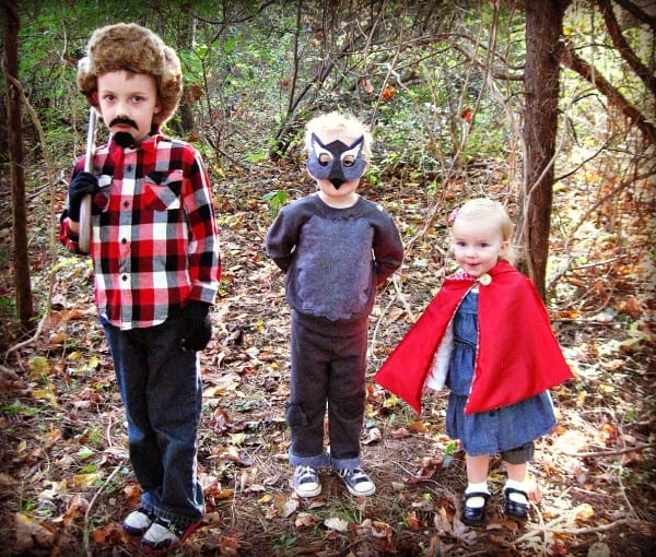 Freshly Completed  Little Red Riding Hood + Big Bad Wolf + Woodsman