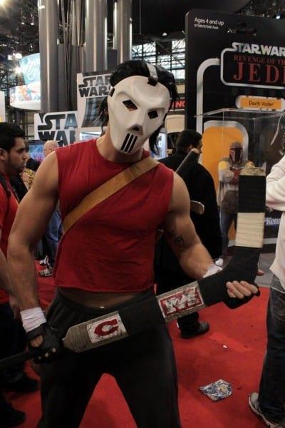 Casey Jones Comic Con Costume