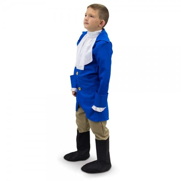 Amazon Com  George Washington Boys President Halloween Costume