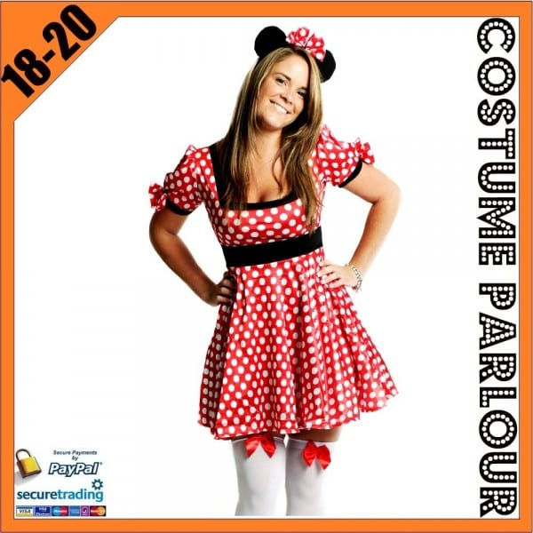 Plus Size Minnie Mouse Dress – Best Party Supply