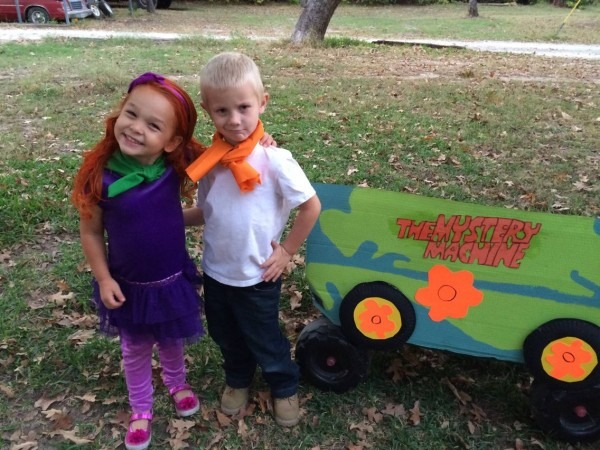 Scooby Doo Costume! Daphne And Fred Costume