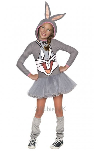 Bugs Bunny Girls Hoody Costume