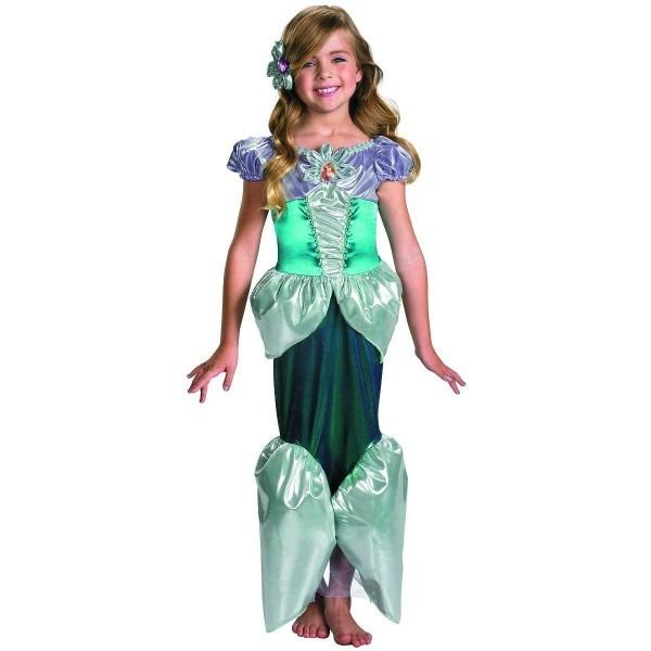 Amazon Com  Ariel Deluxe Child Costume