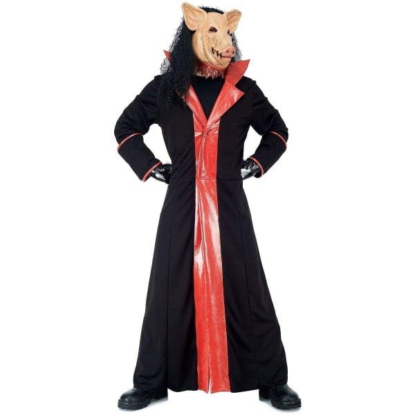 Amazon Com  Paper Magic Men's Jigsaw Adult Deluxe Pig Costume And