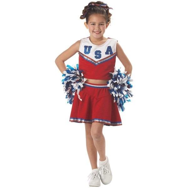 Amazon Com  California Costumes Patriotic Cheerleader Costume, X