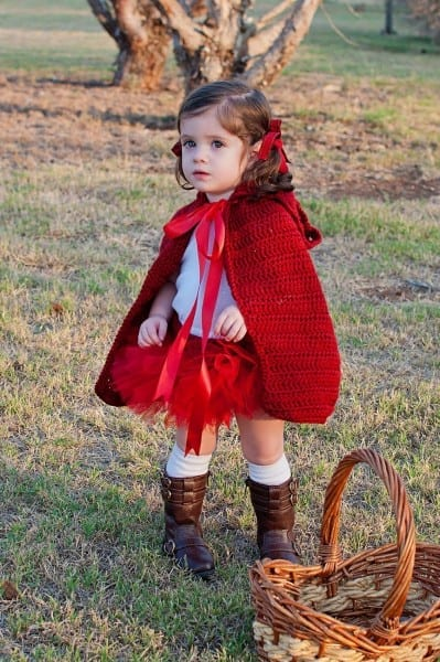 Little Red Riding Hood Costume Halloween Costume Baby Girl Costume