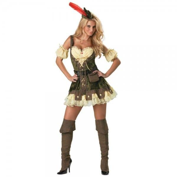 Women's Racy Robin Hood Costume