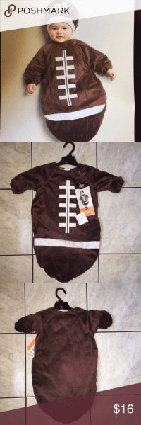 New Infant Football Costume Nwt
