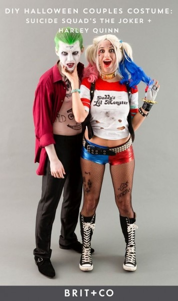 Save This Diy Couples Costume Idea To Make Harley Quinn + The