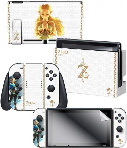 Amazon Com  Nintendo Switch Skin & Screen Protector Set Officially