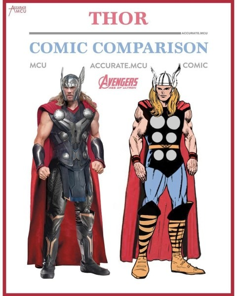 Pin By Wat Anass On Marvel Movie Comic Counterparts