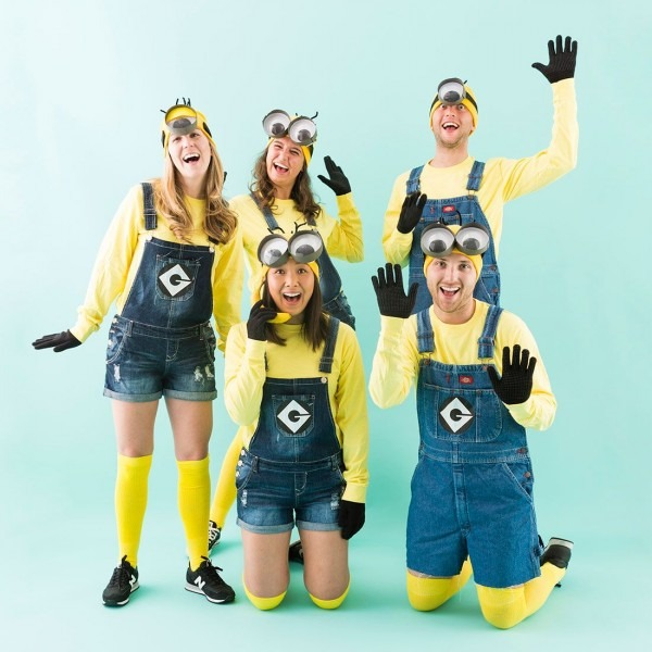 You + Your Crew Can Be Minions For Halloween By Following This