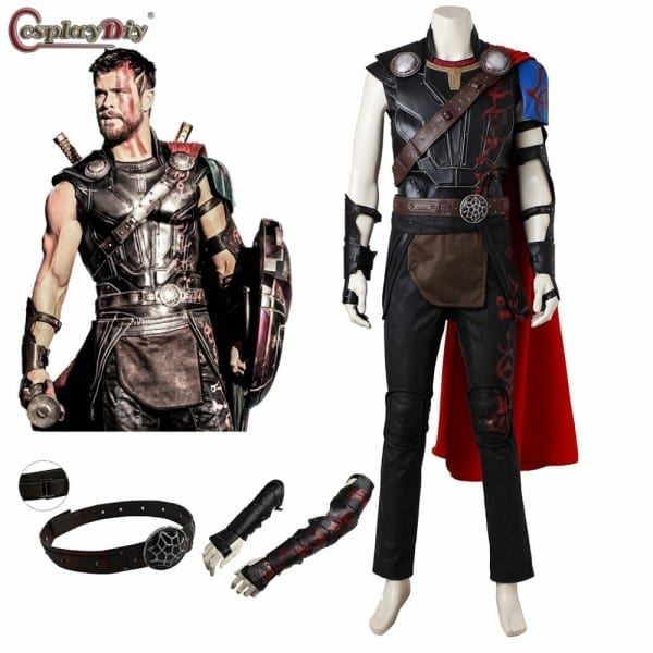 Thor  Ragnarok Odinson Costume Thor Cosplay Outfit Adult Men