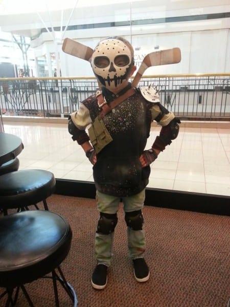 Tmnt Casey Jones (nickelodeon Version) 6 Year Old Costume