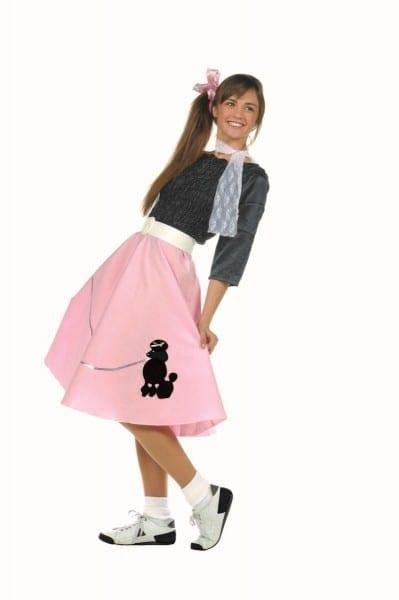 50's Girl Poodle Skirt Costume 78138