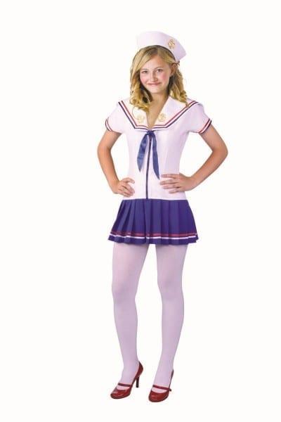Fleet Dreams Teen Navy Sailor Girl Costume 78494