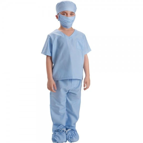 Dress Up America Doctor Scrubs Toddler Costume For Kids