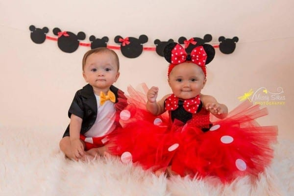 Mickey And Minnie Outfits  Boy Girl Twin Outfit Idea Turned Out