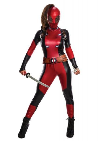 Secret Wishes Lady Deadpool Costume