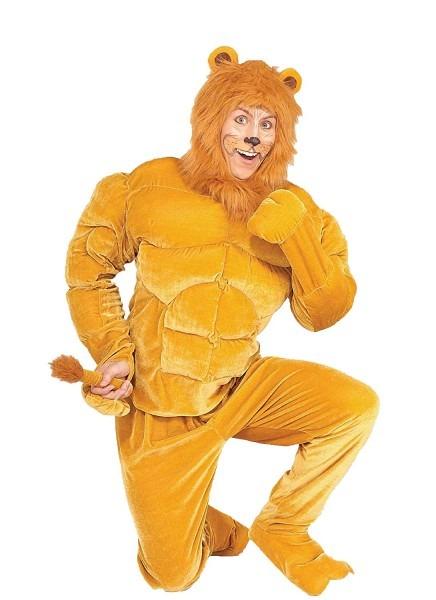 Amazon Com  Forum Novelties Men's Twosomes Macho Lion Adult