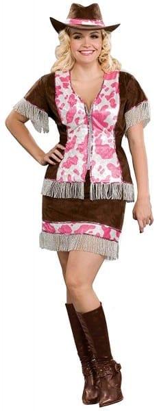 Amazon Com  Forum Novelties Women's Sassy Cowgirl Costume, Multi