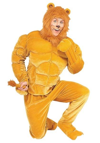 Amazon Com  Forum Novelties Macho Cowardly Lion Costume Small