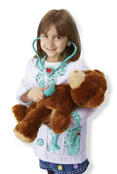 Amazon Com  Melissa & Doug Doctor Role Play Costume Dress