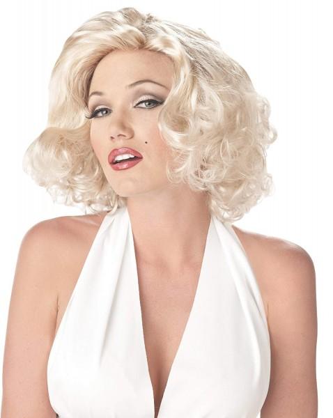 Amazon Com  California Costumes Women's Marilyn Wig, One Size