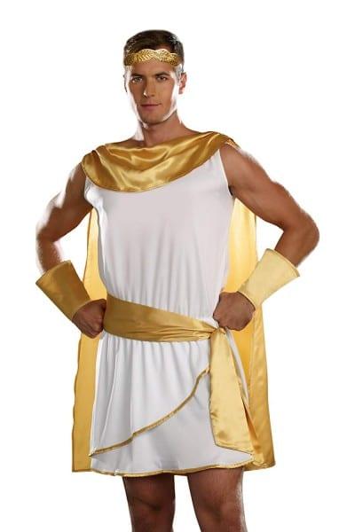 Amazon Com  Dreamgirl Men's He's A God Costume  Clothing