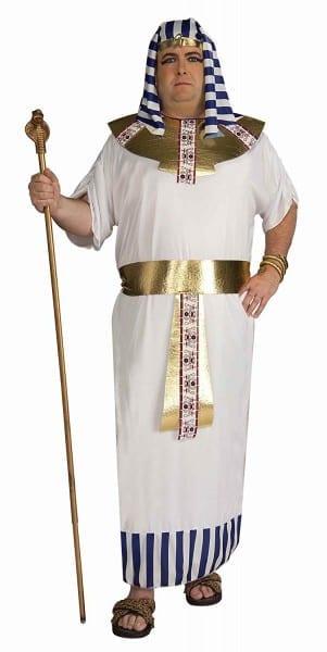 Amazon Com  Forum Novelties Men's Pharaoh Costume, Blue White Gold