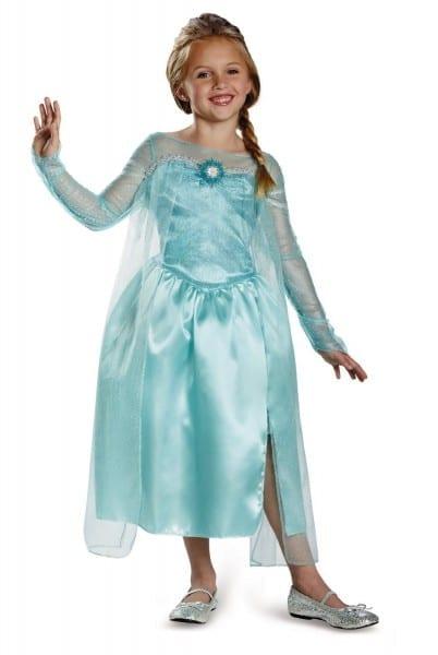 Hot Deal   Disney's Frozen Elsa Snow Queen Gown Classic Girls