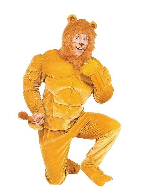 Amazon Com  Macho Cowardly Lion Costume  Clothing