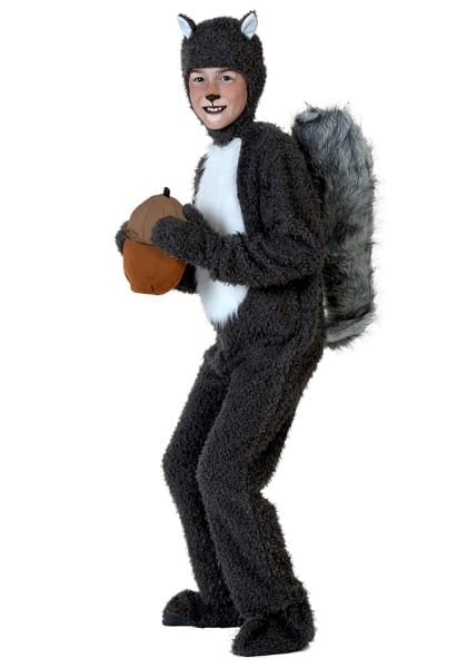 Amazon Com  Big Boys' Squirrel Costume  Clothing