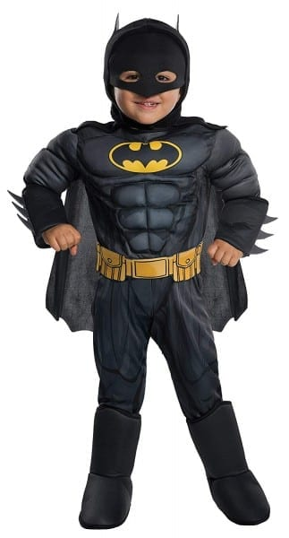 Amazon Com  Rubie's Costume Dc Comics Toddler Deluxe Batman