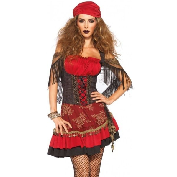 Mystic Vixen Womens Gypsy Costume