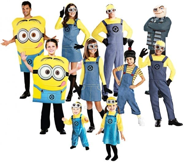 Despicable Me Adults Fancy Dress Minions Gru Agnes Childrens Boys