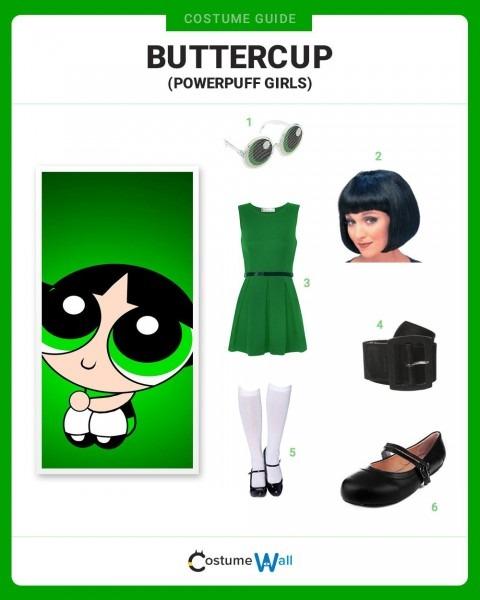 Dress Like Buttercup