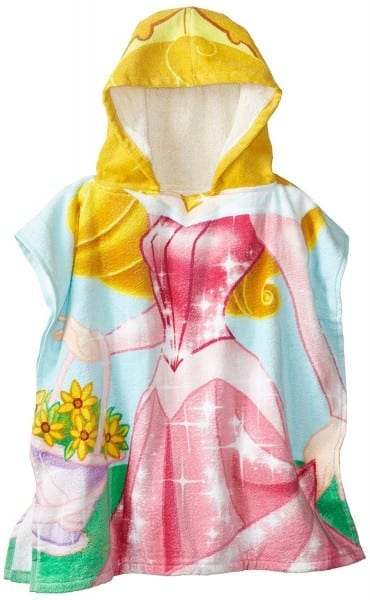Amazon Com  Disney Princess Aurora Hooded Bath Beach Poncho Towel