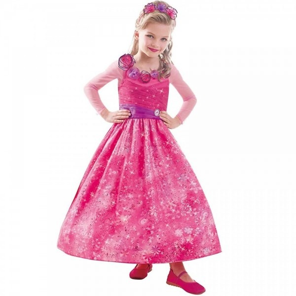 Barbie Fancy Dress Girls Costume Childrens Outfit Kids Book Week