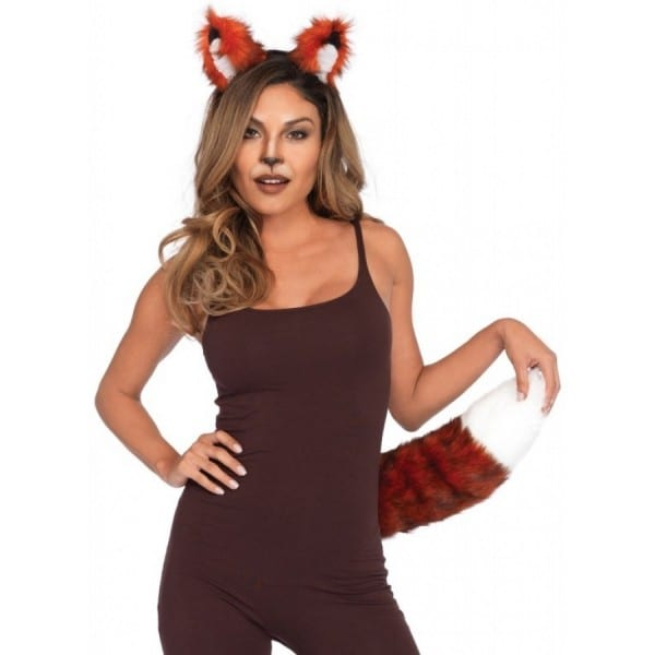 Fox Ears And Tail Costume Kit
