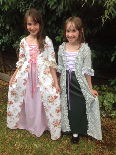 Let's Make Colonial Costumes For Girls