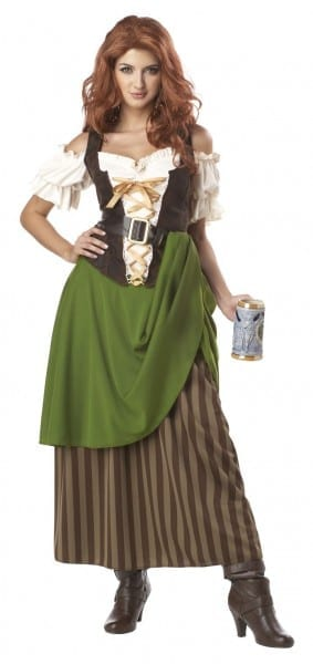 Tavern Maiden Medieval Wench Costume