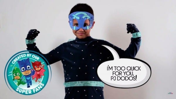 Diy Halloween Costume For Pj Masks Villain Night Ninja