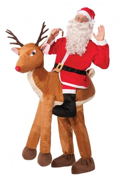Santa Ride A Reindeer Costume